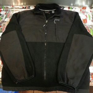 Izod Performance Black and Gray Full Zip Jacket!